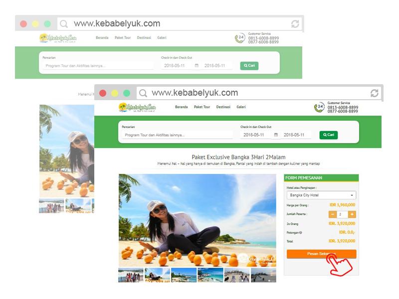 Pilih Paket Tour Bangka Belitung